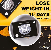 ✔️COUPON FRIENDLY ✔️Result in 10 days ✔️Weight loss 1~5kg ✔️No rebounce ✔️Chapter Plus+ by Backslim