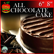 All Chocolate Cakes | 6 and 8 inches | Collection at 12 Locations