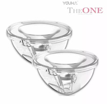 Youha handsfree - the one silicone collection cup - 2 sets youcup