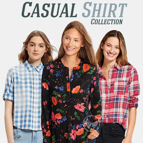 Casual Women Shirt Deals for only Rp59.900 instead of Rp130.217