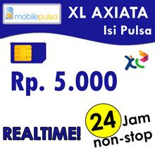 Pulsa XL Rp. 5.000- REALTIME 24 jam non-stop! Menambah Masa Aktif (Mohon baca cara pengisian di bawah)