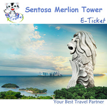 【99 TRAVEL】Sentosa Merlion E-ticket