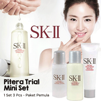 Free Shipping Jabodetabek SK-II Pitera Trial Mini Set(SK-II Paket Pemula) Deals for only Rp200.000 instead of Rp200.000