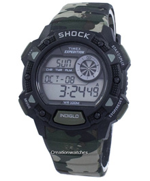[CreationWatches] Timex Expedition Base Shock Alarm Indiglo Digital T49976 Mens Watch