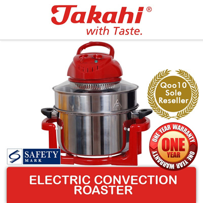 Qoo10 Aerogaz 0 7L Slow Cooker AZ 73SC Small Appliances Source · TAKAHI Electric Convection Roaster Model 509A Turbo Broiler