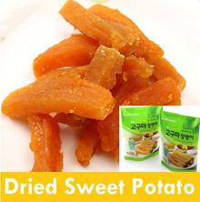 ★HOT DEAL★Dried Sweet Potato 60g  x 5 pcs /10 pcs/Diet Snack /Tasty/Chewy/Sweet/ Soft/ Fresh/Healthy