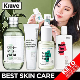 Liah Yoo ★Krave Beauty★ Matcha Hydrating Cleanser/Great Barrier Relief/Oat So Simple Cream / 5types