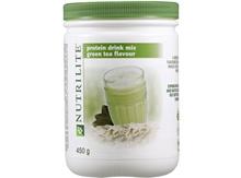 NUTRILITE Protein Drink Mix (Green Tea Flavour) 450g