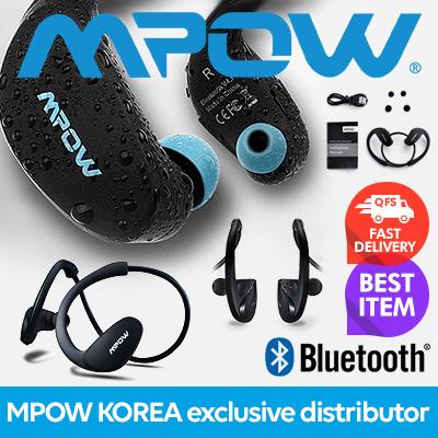 0591560e7ce Mpow Cheetah Bluetooth Headphones V4.1 Wireless Sport Headphones Behind-Ear  Sweatproof Headphones