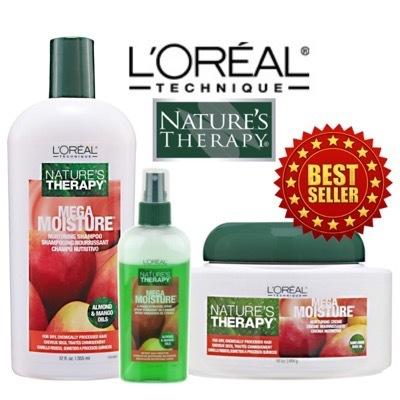 0f4f18692c1186 LOREAL NATURES THERAPYLoreal Natures Therapy Mega Moisture/Mega Sleek/