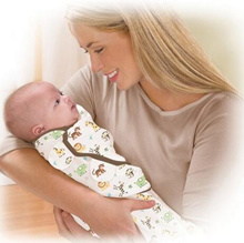 Swaddle Infant Wrap Sleeping Bag Pure cotton baby blanket Blankets