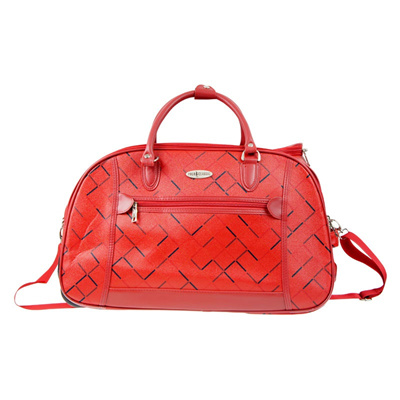 Polo Classic 2012-5 Travel Bag Trolley - Red - Free Shipping JABODETABEK -  Travel 21650a1620a2a