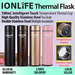 ★IONLIFE Thermal Flask★Thermos/ Thermo★Temperature Display★304 Stainless Steel/ Double Insulation