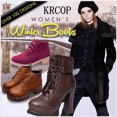 Qoo10 - Women Winter Boots : Shoes