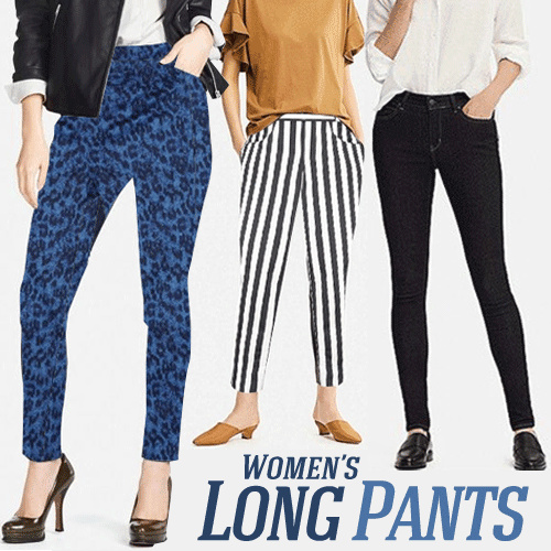 New Collection Women Long Pants Collection_8 Colors_Casual Pants_Formal Pants Deals for only Rp65.000 instead of Rp151.163