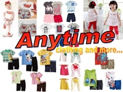 !!CLEARANCE SALES!!GOOD QUALITY CASUAL WEAR/PAJAMAS/ SHIRT/BOTTOM/ BOYS/GIRLS/2PC SET