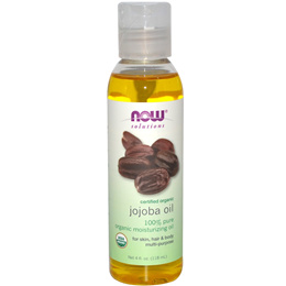 Certified Organic Jojoba Oil 4 fl oz (118 ml)100% Authentic from USA. Retail at Orchard Retail Store