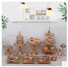 European style wedding cake shelf dessert cake pastry tray wedding dessert table decoration