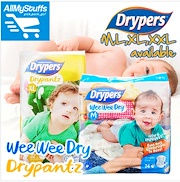 【DRYPERS】NEW! ★ WEE WEE DRY ★ DRY PANTZ ★ tape/pants ★ M/L/XL/XXL available ★Baby ★ CARTON SALE