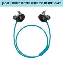[Bose] 보스 SoundSports Wireless 사운드 스포츠 블루투스 헤드폰