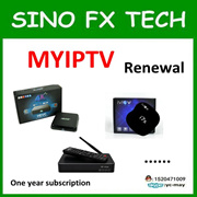 MYIPTV support M8 M8S I6S+ I7S+ tv box substruction subscription renew
