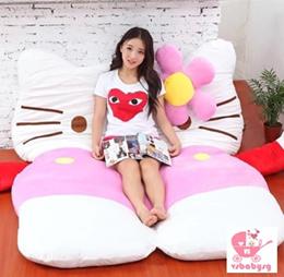 NDP Special♥ Hello Kitty Lazy Sofa Bed ♥ Foldable Mattress ♥ Tatami ♥ Sleeping bag ♥