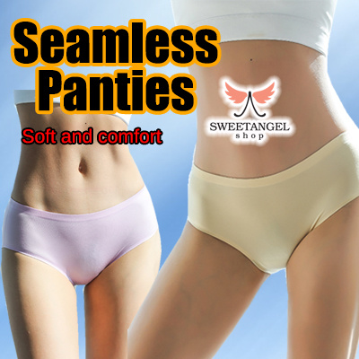 11c45e0ed6 Underwear panties - Seamless sexy breathable comfortable smooth icy slik  material