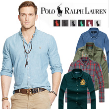 【Sale-Hot Sale Brand 24 Designs】*Custom Fit*100% Cotton Men Polo Shirt 2017 Long Sleeve
