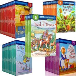 【30 Books Set】Step Into Reading ★ Children Phonics Reader ★ Cognitive Story Books
