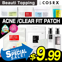 ★Qoo10 Lowest Price★COSRX★Acne Pimple Master Patch / One Step Pimple Clear Pad / Gel Cleanser