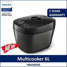 PHILIPS Multicooker Rice Cooker HD2145/62 Pressure Cooker / Slow Cooker / Saute/Sear