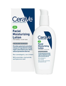 CeraVe Facial Moisturizing Lotion PM 3 fl oz (89 ml) 100% Authentic from USA.