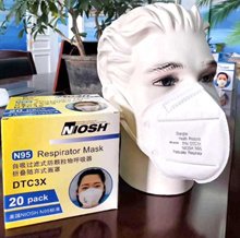 20PCS / Pack mask n95 Disposable N95 Mask Filtration Efficiency 95% NIOSH Approved Cycling Face Respir