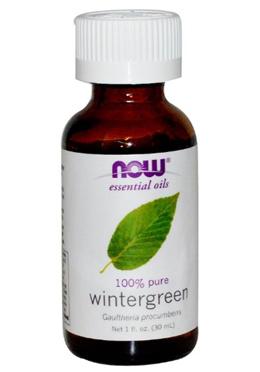 Now Foods Wintergreen Essential Oils 1 fl oz (30 ml)
