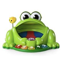★ frog pond toy ★ bright start pop Gigle Pondoparu frog pond / ball game toys / sensory development / melody toy