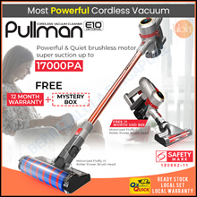 BLACKFRIDAY [▼-$55.00 ]PULLMAN Oktopus E10 Cordless Vacuum Cleaner Handheld Stick | Safety Mark