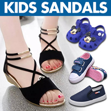 kids Sandals toddler shoes Sneakers Baby shoe School Children leather Slippers  Girl Gal Boy