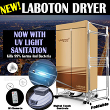 Clothes Dryers! Laboton Smart Dryer remote control laundry silent dryer air o dry washing machine