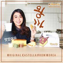 [DESSERT] Wangka/Korea/Jumbo/cake/Kastella/Roti/Bakery/Desert/Keju/fresh/Cake/