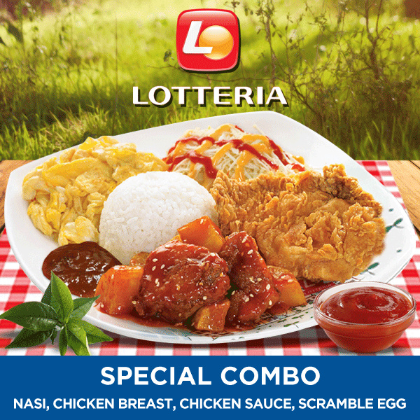 [FAST FOOD] Special Combo /Lotteria Deals for only Rp30.000 instead of Rp30.000