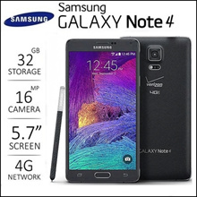 Samsung Galaxy Note4 Used Phone Unlocked Smartphone Mobile phone Free Shipping
