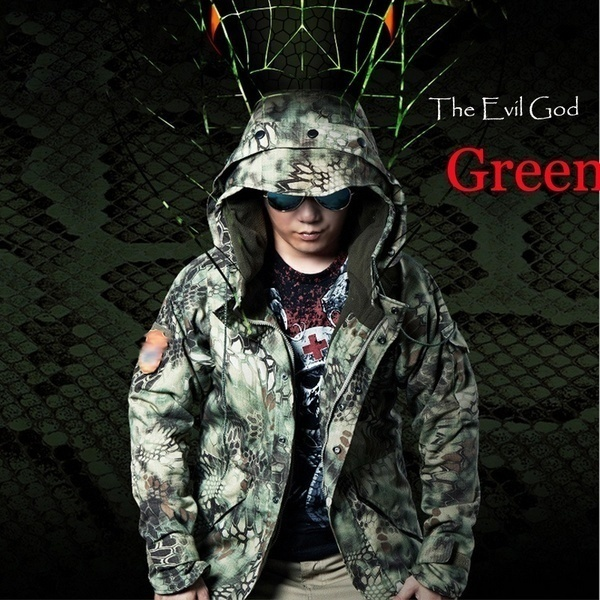 078ab4ced707e Army Military Fans Cobra G8 Python Camouflage Waterproof ... - Qoo10
