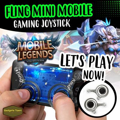 Fling Mini Mobile Gaming Joystick / Mobile Joystick for MOBILE LEGENDS BANG BANG / 2 Colours!