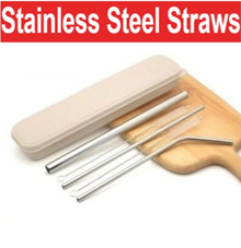 Metal Straws/Reusable Straws/Stainless Steel Straws/Drinking Straws