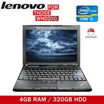 [Make $172] Refurbished Lenovo ThinkPad X201 (Intel Core i5 1st Gen/ 320GB HDD/ 4GB RAM)