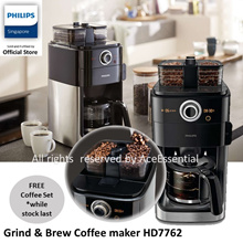 **FREE Premium COFFEE SET for Philips Grind n Brew Coffee maker HD7762