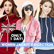 FREE SHIPPING **WOMENS JACKET COLLECTION | FASHIONABLE SPORTY|PERSEDIAAN TERBATAS