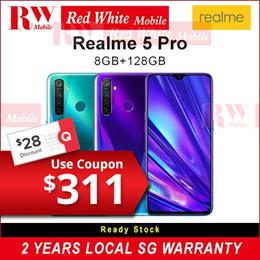 Realme 5 PRO 8GB RAM 128GB ROM Local 2 Years Warranty By Realme Singapore