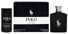 PERFUMEN-POLO BLACK TRAVEL EXCLUSIVE/EDT-125ML/DEODORANT-75g