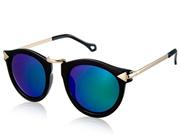 dc1d99f73a SG OREKA 8888 Unisex Stylish Nickel Alloy Frame   Plastic REVO Lens  Sunglasses (Green) M.